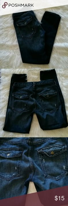 52a8f8203c CUTE GAP JEANS Cute distressed style skinny jeans are in great condition.  GAP Jeans Skinny
