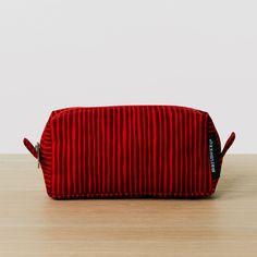 Marimekko Varvunraita Red Taimi Cosmetic Bag