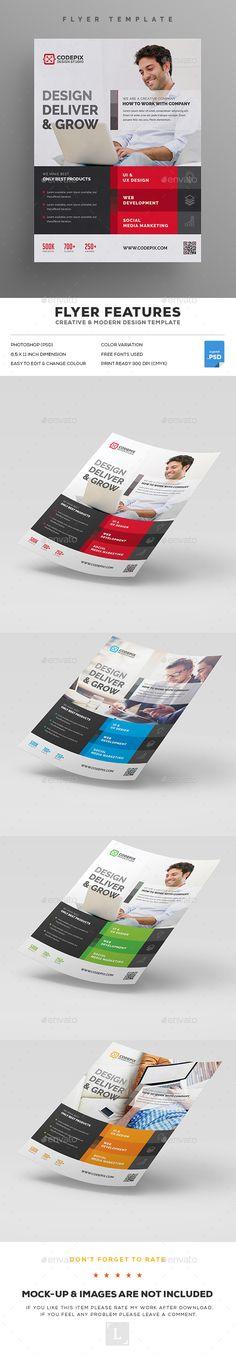 Event Template, Flyer Template, Psd Download, Minimalist Flat, Print Design, Graphic Design, Poster Designs, Flat Design, Brochure Design