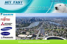 Act Fast Electrical & Air Conditioning specializes in offering repair and maintenance assistance for ducted air conditioning systems in North Brisbane. We can come to you to repair, install and service your air conditioning unit right away such that you don't have to bear the soaring room temperature.