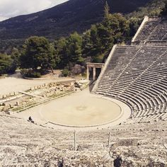 #AncientTheater of #Epidaurus #Culture #DayTrip Photo credits: @gaiakley_