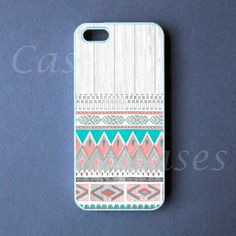 Iphone 5 Case  Aztec on White Wood Iphone 5 Cover   by DzinerCase, $16.99