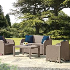 Found it at Wayfair.co.uk - 4 Seater Sofa Set with Cushions