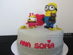 Doces Opções: O Mínimo Bob foi ao aniversário da Ana Sofia