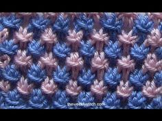 Two Color Star Stitch - YouTube
