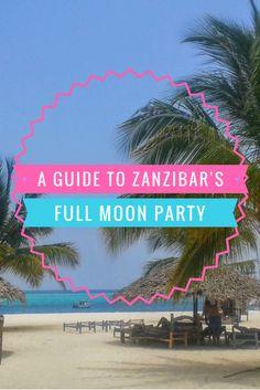 Zanzibar's Full Moon Party