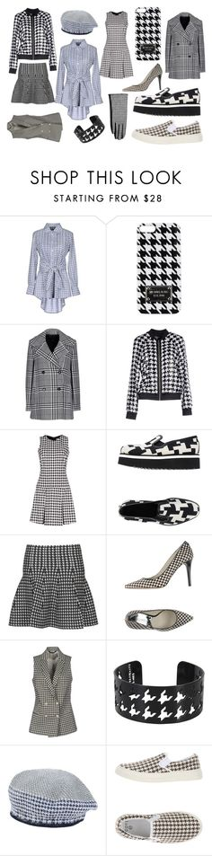"""Pied De Poule"" by rockingcloset ❤ liked on Polyvore featuring La Camicia Bianca, Michael Kors, Pennyblack, MICHAEL Michael Kors, Dondup, BT London, Brian Dales and Dsquared2"