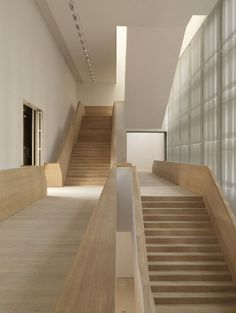 I like the negative space between the stairs and the wall.