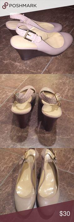 Ralph Lauren shoes Ralph Lauren shoes - excellent condition! - ✨ only worn once or twice. ✨ Ralph Lauren Shoes Wedges