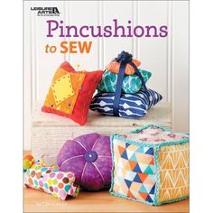You can never have too many pincushions, and Pincushions to Sew, you can feed that need! Sewing pincushions is so much fun. Everybody needs at least one pincushion! Step-by-step instructions and patterns give you all the help you need to create each of these charming projects! Author: Edie Eckman. Softcover, 32 pages. Published Year: 2017. ISBN 978-1-4647-6714-2. Imported. #UpcycledBedroomIdeas Easy Sewing Projects, Sewing Projects For Beginners, Sewing Hacks, Sewing Tutorials, Sewing Crafts, Sewing Tips, Recycling Projects, Recycled Paper Crafts, Upcycled Crafts