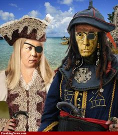 If Pirates Ruled Pictures  american gothic