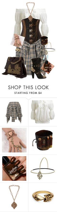 """Untitled #1896"" by mermaids533 ❤ liked on Polyvore featuring Vivienne Westwood Anglomania, Wet Seal, Balmain, Roberto Cavalli, Trend Cool, Miss Selfridge, Maggie Maggi and TOMS"