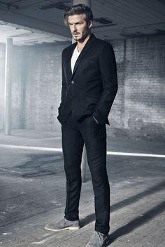 David Beckham apresenta sua nova coleção masculina da HandM