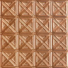 Decorative Ceiling Tiles, Inc. Store - Shanko - Aluminum - Wall and Ceiling Patterns -