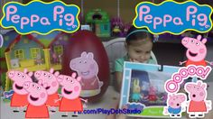 PEPPA PIG AND FRIEND!  PLAY DOH  - SURPRISE EGGS