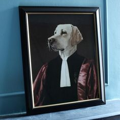 'The Advocate' Dogcestor Print by Thierry Poncelet