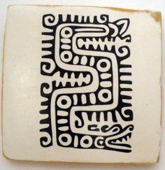 Resultado de imagem para dibujo etnico Aztec Symbols, Alphabet Symbols, Mayan Symbols, Ancient Symbols, Ancient Art, Mayan Glyphs, Inka, Aztec Art, Ethnic Patterns