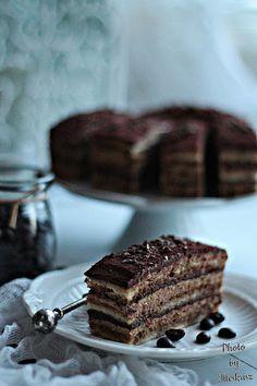 BLOGKONYHA: Kávé Nutella, Opera, Sweets, Snacks, Cake, Food, Diets, Kuchen, Appetizers