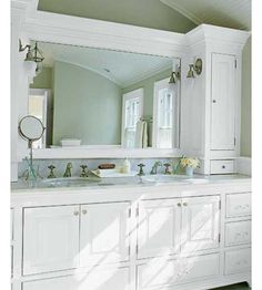 http://www.mobilehomerepairtips.com/bathroomcabinethardware.php has some maintenance tips that the DIY homeowner can make to one's bathroom cabinets.
