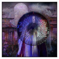 """""""「月光の檻」"""" by nocturnal-lunacy ❤ liked on Polyvore featuring art"""