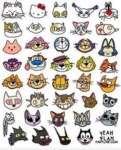 Todos los gatos