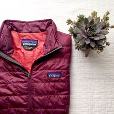 Patagonia Nano Puff Jacket♡ Patagonia Nano Puff Jacket in Oxblood red color. I'm selling this only because I'm wanting to replace with a smaller size. I have only worn this jacket a couple of times trying to get a feel for the size but it runs big I think. Price is firm. Basically in new condition. Patagonia Jackets & Coats