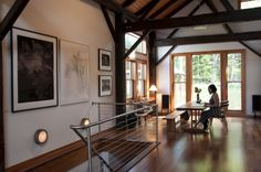 Photographer Yumiko Izu in her studio in Upstate New York