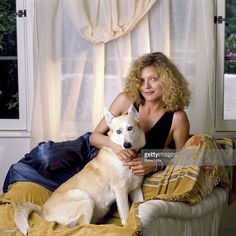 News Photo : Actress Michelle Pfeiffer is photographed in 1990...