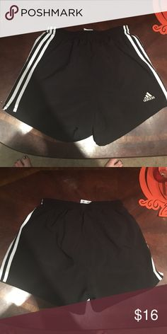 Running shorts Like new adidas running shorts with liner Adidas Shorts