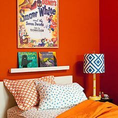 Design tips for small bedrooms | Be bold with color