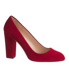 Stella pumps are Italian-made with a chunky heel and a just-right height. Sophisticated, meet sexy.