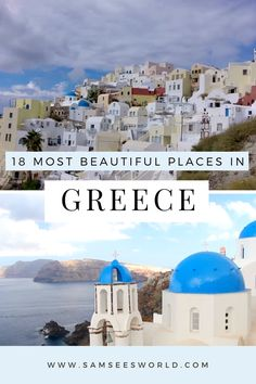 Beautiful Islands, Beautiful Beaches, Most Beautiful, Places In Greece, Places In Europe, Great Places, Places To Go, See World, Most Romantic Places