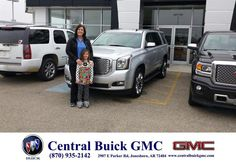 https://flic.kr/p/BpkXdd | Happy Anniversary to Dr Lauren  on your #GMC #Yukon from Ronnie Nichols at Central Buick GMC! | deliverymaxx.com/DealerReviews.aspx?DealerCode=GHWO