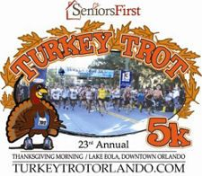 2012 Turkey Trot 5k on Thanksgiving at Lake Eola in Downtown Orlando