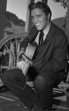 Elvis Presley in 'Love Me Tender', 1956.