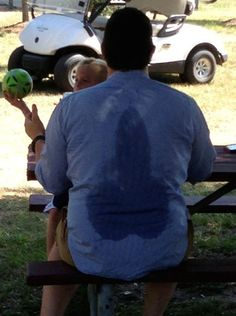 Anyone who literally sweats balls: | 23 People Who Are Having A Way Worse Summer Than You