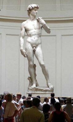 Kan David nog op eigen benen staan? Al eerder werden barstjes geconstateerd - beeldende kunst - VK