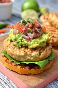 Mexican Chicken Burger #justeatrealfood #everylastbite