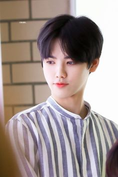 """""""I'm sorry to say, Ms.Kim, but there are no available dorms for you t… Yohan Kim, Love U Forever, Reasons To Live, Golden Child, Starship Entertainment, Korean Celebrities, Kpop Boy, Boyfriend Material, Kpop Groups"""