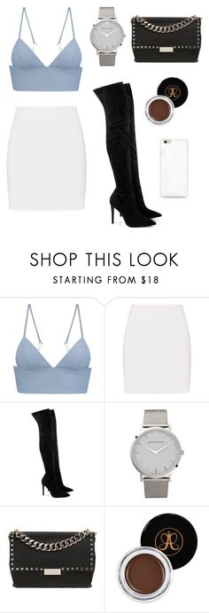 """pretty!!"" by itsamandarose on Polyvore featuring T By Alexander Wang, Helmut Lang, Kendall + Kylie, Larsson & Jennings, STELLA McCARTNEY and Anastasia Beverly Hills"