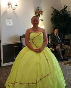 The best Fastpitch softball prom dress EVER. Can anyone even top this?