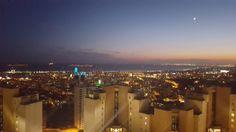 night panorama in Istanbul, Turkey