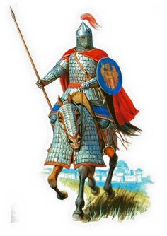 Byzantine cataphract, 9th-10th cent. A.D. Eastern Roman Empire.