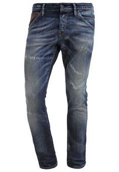 JJGLENN JJFOX - Jeans Slim Fit - blue denim