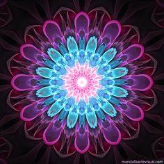 Mandala Mandala Artwork, Mandala Painting, Flower Mandala, Flower Art, Flower Phone Wallpaper, Yoga Art, Sacred Art, Fractal Art, Sacred Geometry