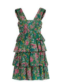 Floral-print cotton-mousseline dress | No. 21 | MATCHESFASHION.COM
