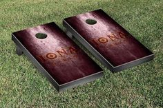 Rustic Metal Style Iona College Gaels Bag Toss Game