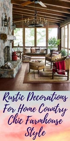 Rustic Decorations For Home Interiors Rustic Decorations For Home Office Country Chic, Country Decor, Rustic Decor, Home Bedroom, Home Living Room, Bedrooms, Rustic Interiors, Joanna Gaines, Rustic Kitchen