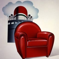 Vanity Fair Art Deco Armchair - Poltrona Frau. @designerwallace