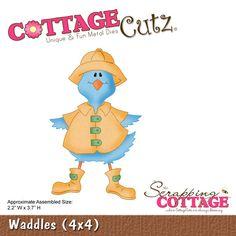 CottageCutz Waddles (4x4)
